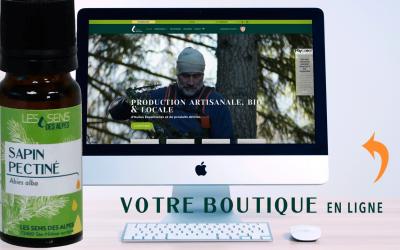 Votre boutique est en ligne !