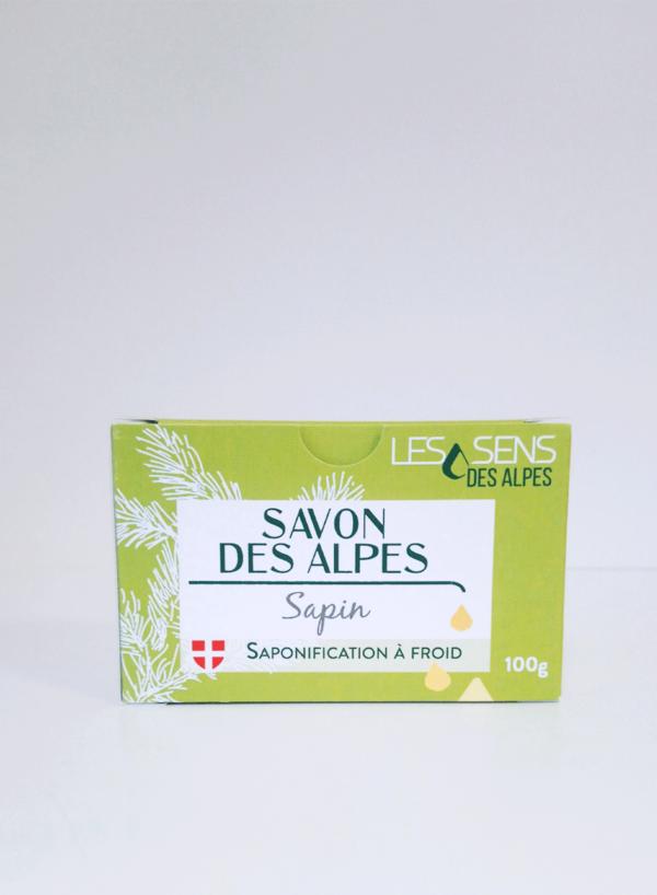 Boite de Savon des Alpes Bio Sapin