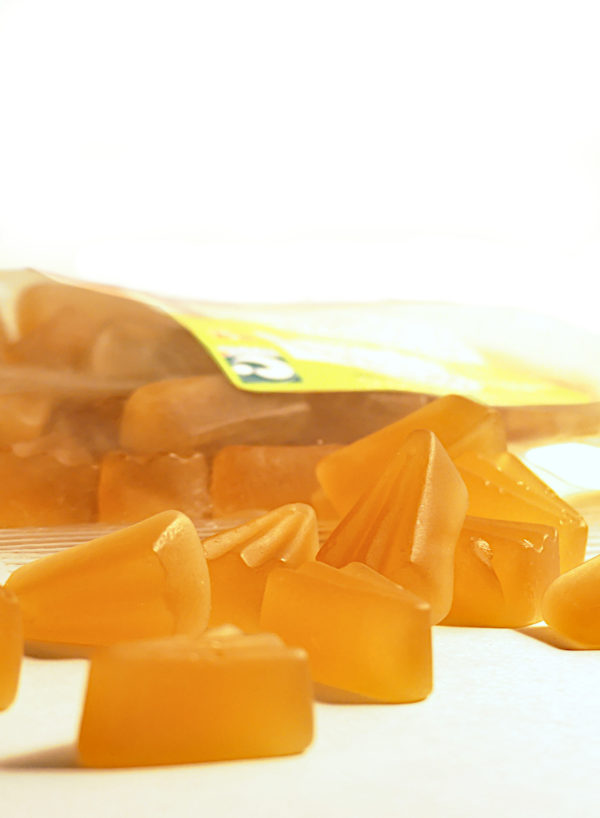 Sachet des gommes au miel et sapin