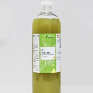 Flacon 1 litre Gel Douche Sapin Bio